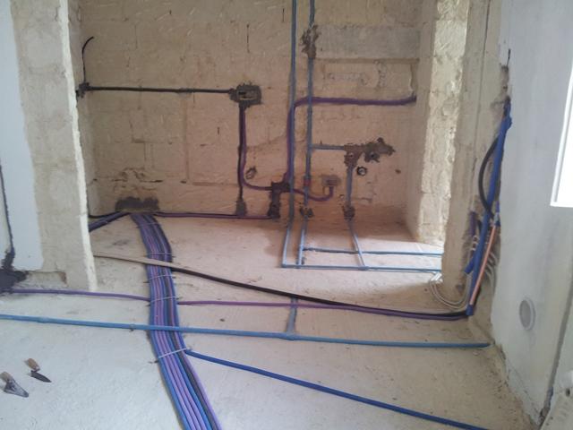 Impianto elettrico sottotraccia ( Castellaneta)