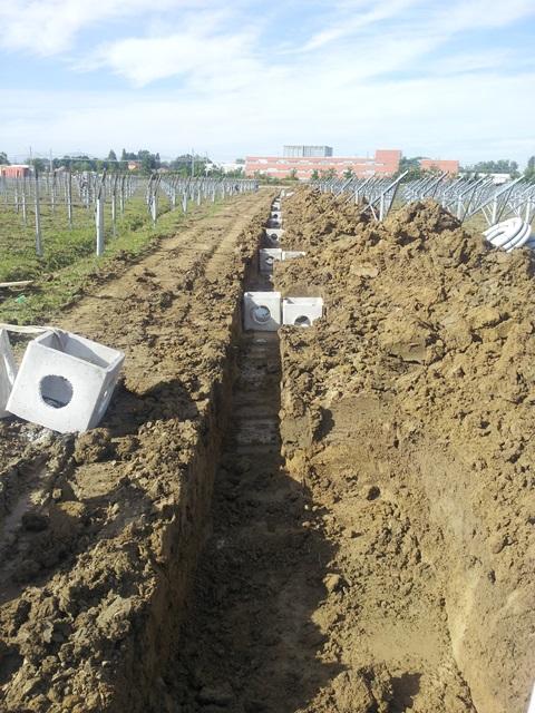 Lavori Edili Campi Fotovoltaici