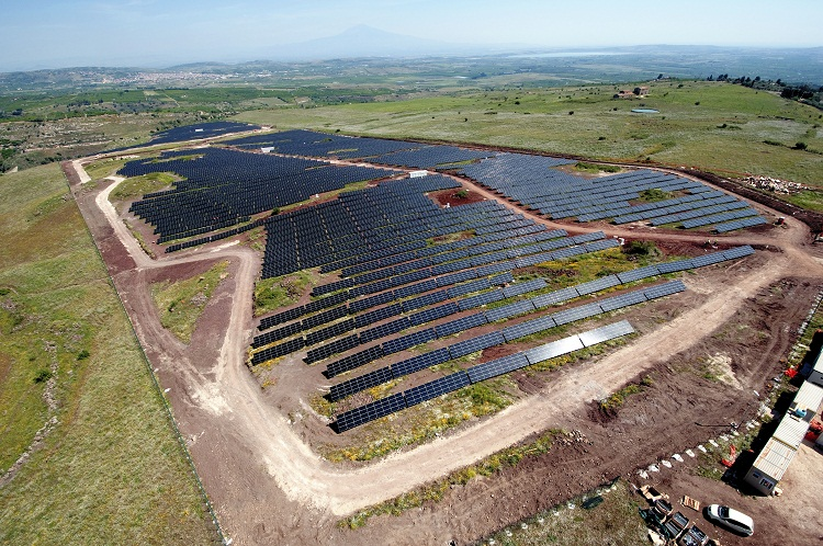 Impianto fotovoltaico 3500 Kwp
